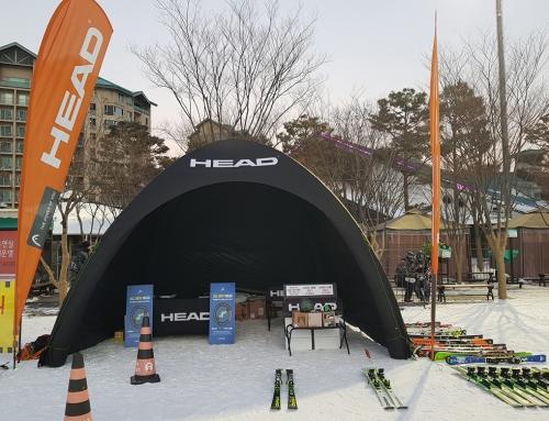 KOREA HEAD SPORTS _ 행사용 부스 제작,설치